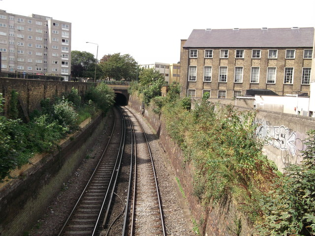 Railway to Woolwich Dockyard