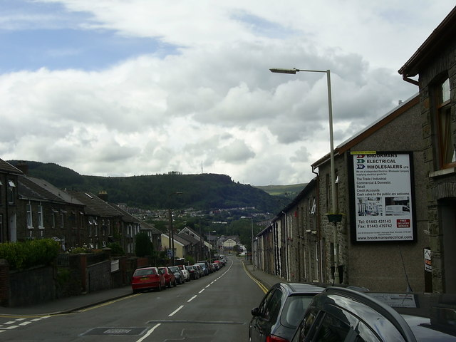 Tylacelyn Road near Penygraig