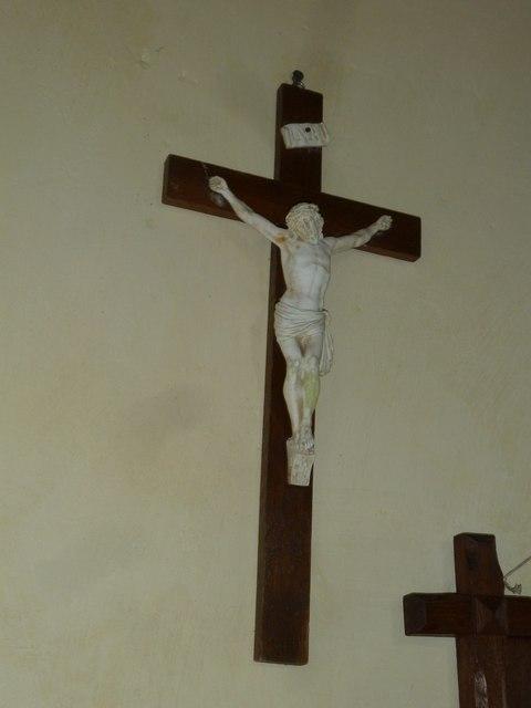 Up Nately- St Stephen's: crucifix