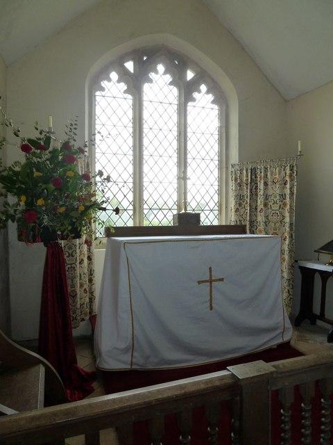 Up Nately- St Stephen's: altar