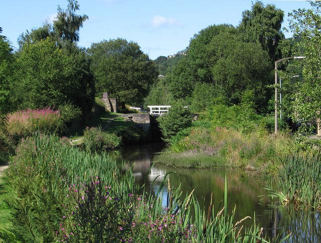 Milnsbridge - canal east of Lock 12