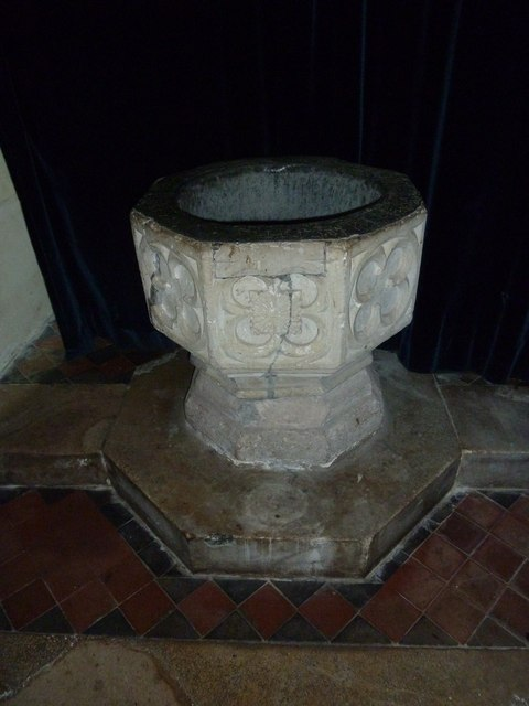 Greywell: Church of St. Mary the Virgin- font