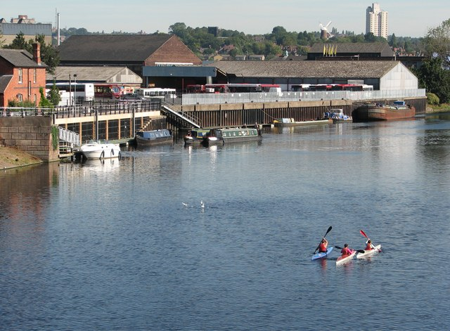 A view from Trent Bridge on an August morning