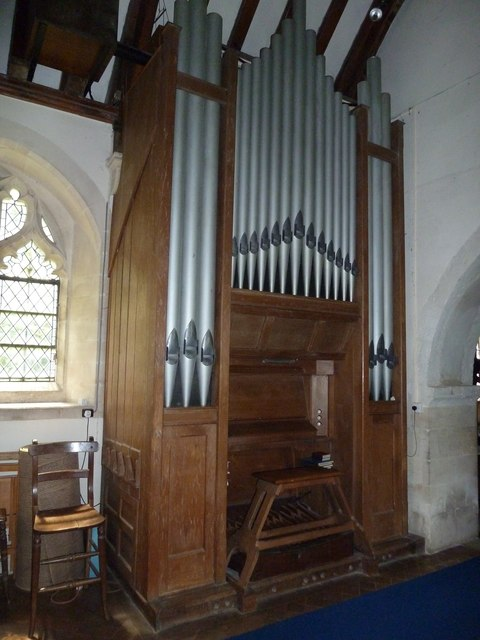 Greywell: Church of St. Mary the Virgin- organ