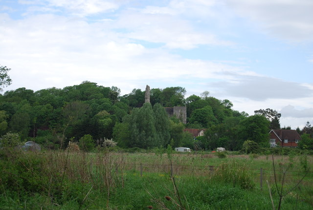 Remains of Bramber Castle