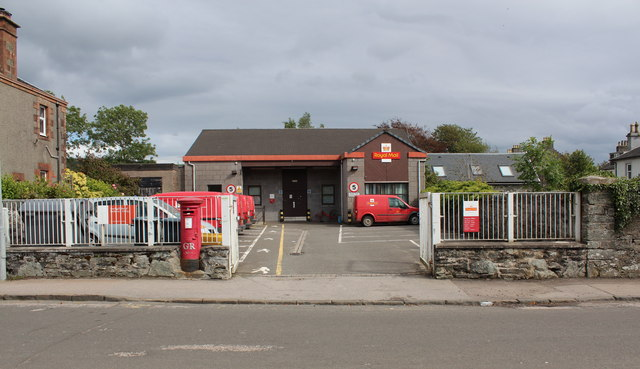Royal Mail sorting office, Lorne Street, Lochgilphead