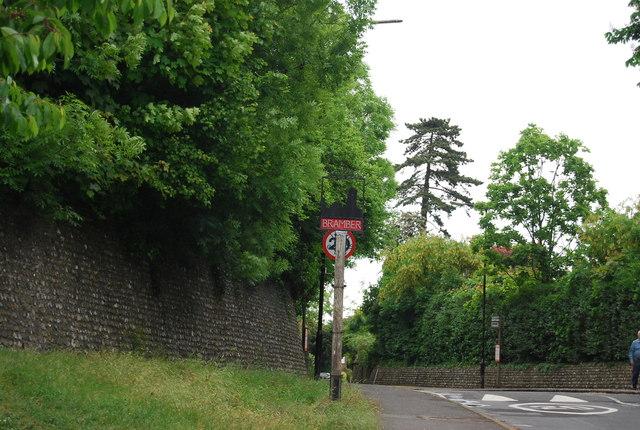Village sign, Bramber