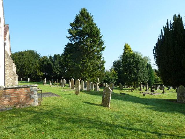 St. Mary, Bentley: churchyard (6)