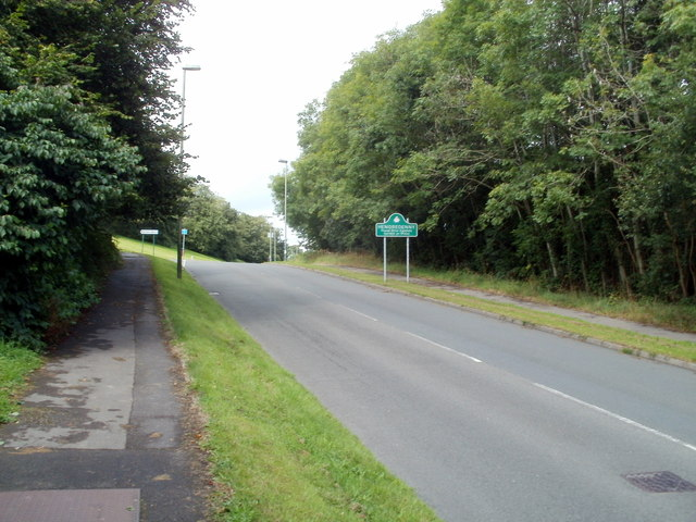 Hendredenny Drive reaches Hendredenny