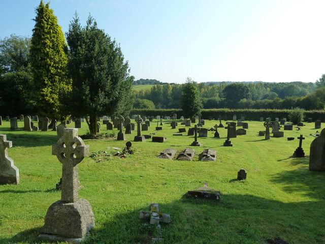St. Mary, Bentley: churchyard (7)