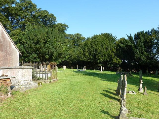 St. Mary, Bentley: churchyard (1)