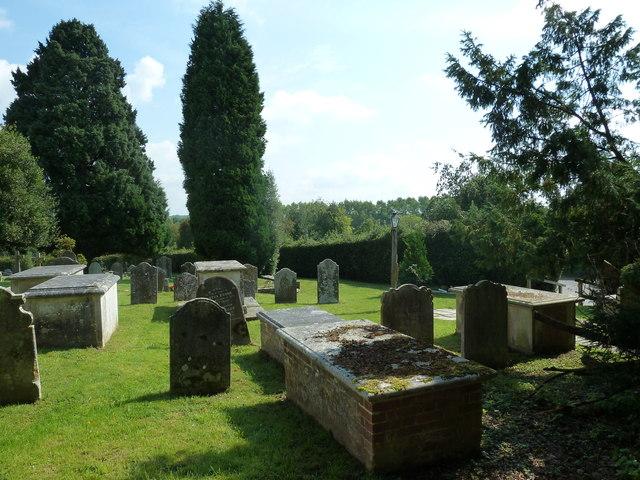 St. Mary, Bentley: churchyard (5)