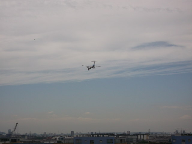 London City Airport flight path
