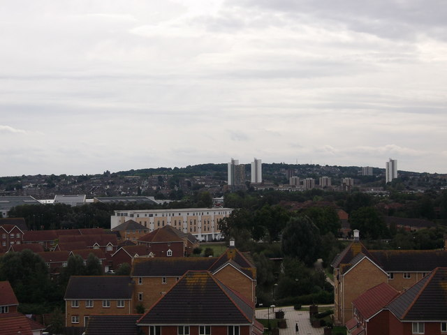 View towards Plumstead