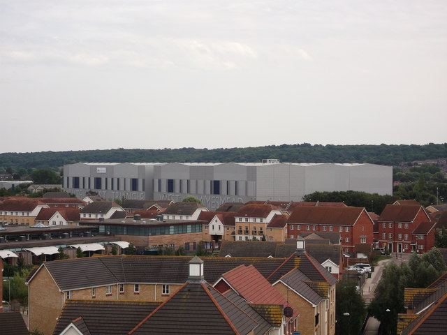 View of White Hart Triangle, West Thamesmead