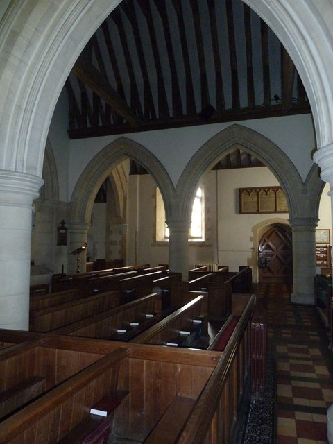 St. Mary, Bentley: arches