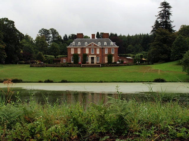 Squerryes Court from the Ha-ha