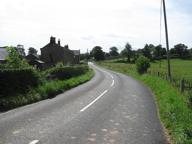 A road through Preston
