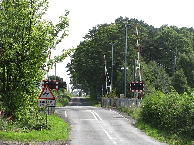 Fallodon level crossing