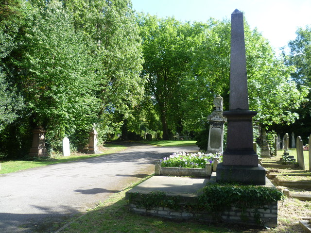 Entering Brockley Cemetery