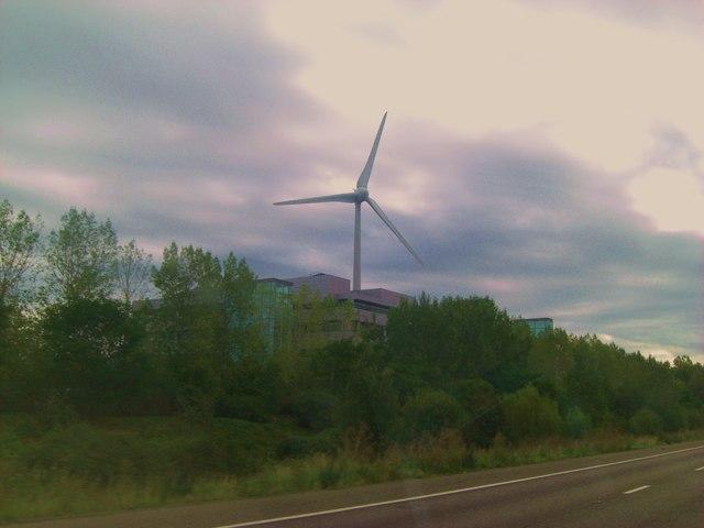 Wind turbine at Green Park