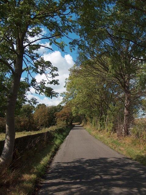Elliott Lane on the northern edge of Sheffield