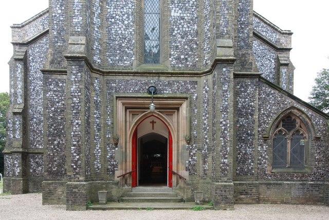 St Mark, Lakenham - West door