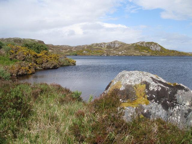 Loch a'Bhàgh Ghainmhich