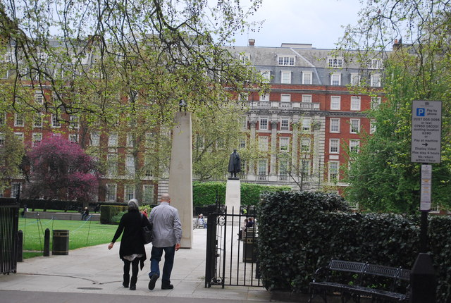 Statue of President Roosevelt, Grosvenor Square