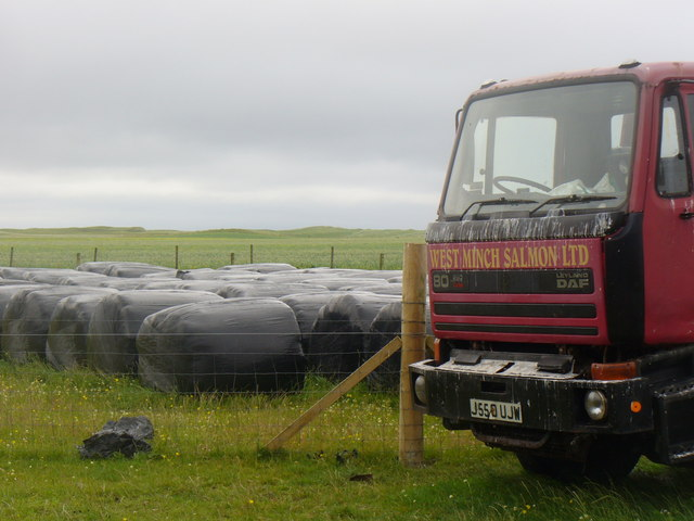 Industry on the Machair at Bornish