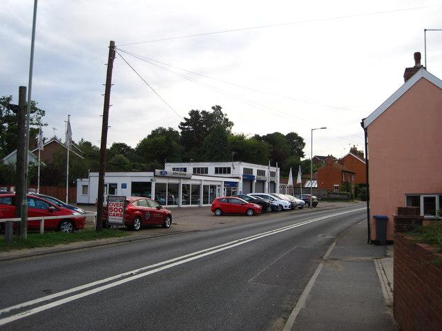 John Grose garage, Woodbridge