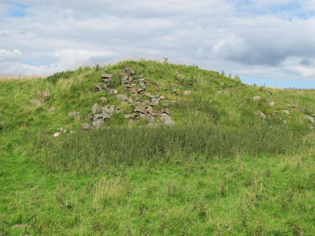 (The remains of) Moorfield lime kiln