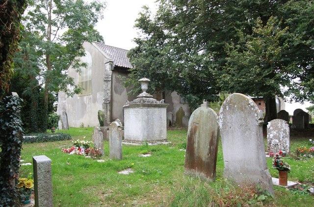 St John the Baptist, New Lakenham - Churchyard