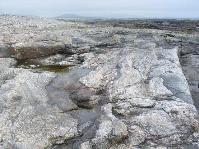 Rocks at Rubha Aird a' Mhuile