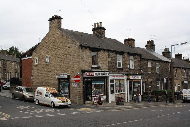 Shops on Eldon Street North
