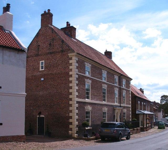 Georgian house in Helperby