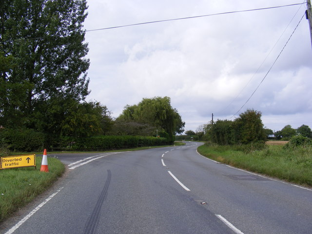 A1120  junction with Dial Lane