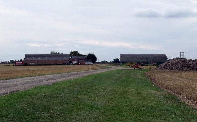 Lane to Whitehouse Farm