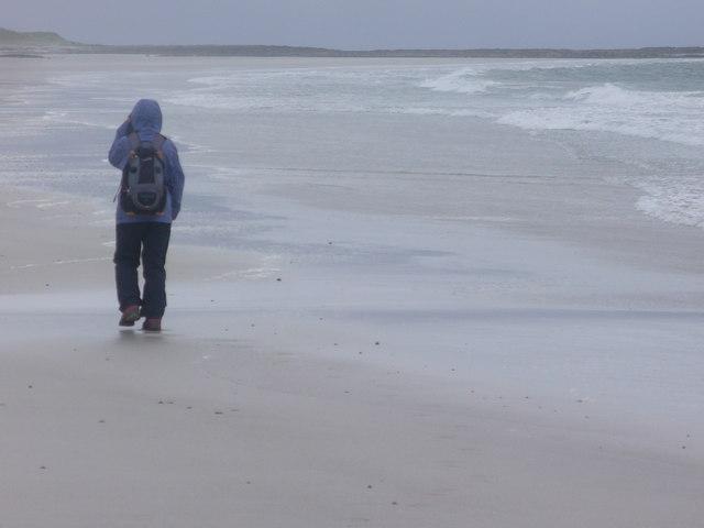 Beach by Sligeanach Kildonan