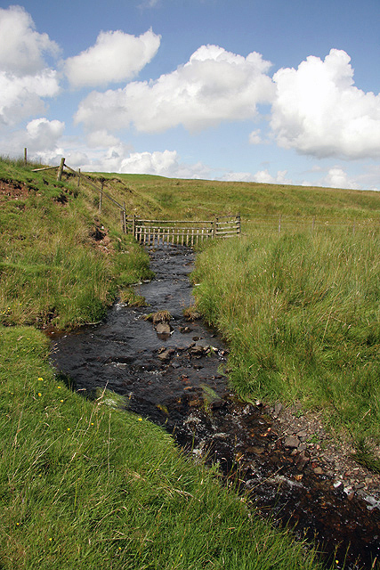 A burn at Dry Cleuch