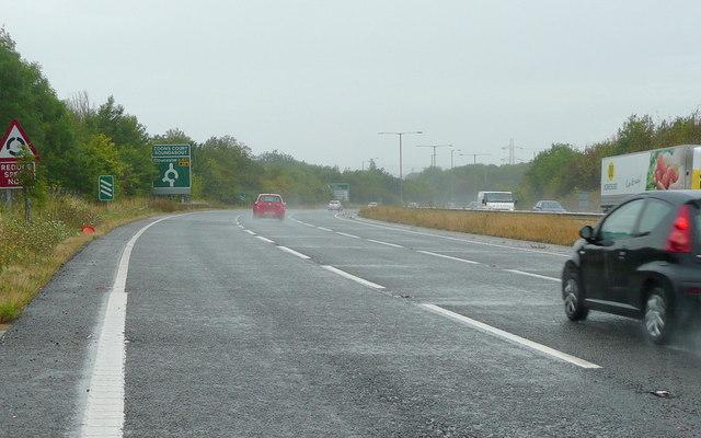 A417 dual carriageway