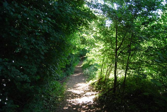 Footpath near Black Horse Farm