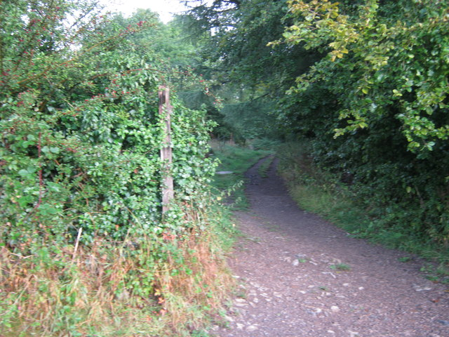 Footpath off Coalpit Lane in Youlgrave