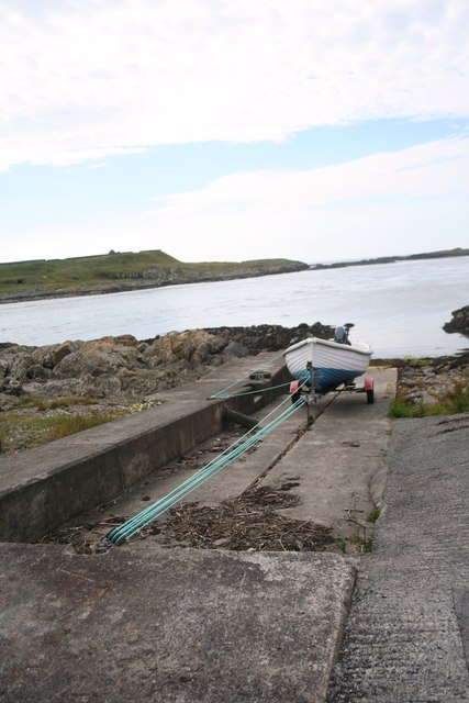 Slipway at Port Wemyss