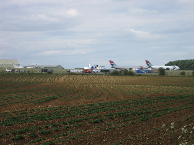 Planes at Kemble Airfield