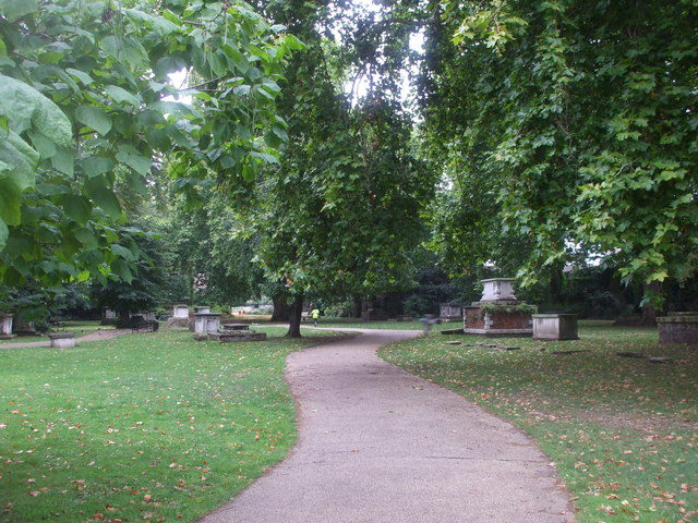 St George's Gardens, near Grays Inn Rd, London