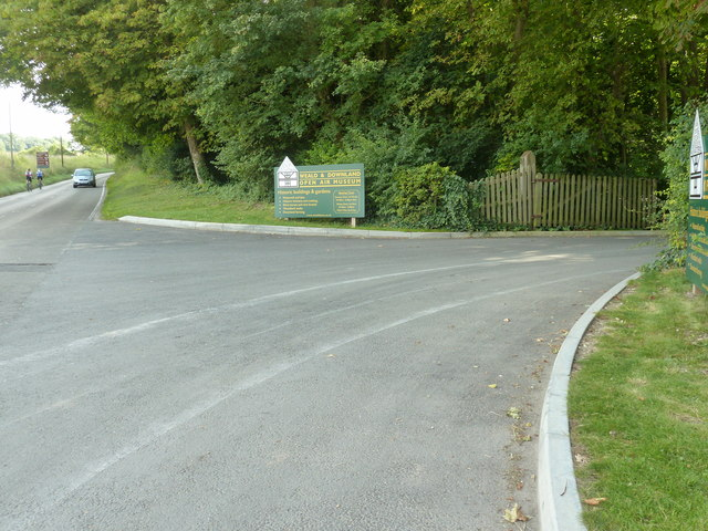 Signs for the Weald and Downland Open Air Museum