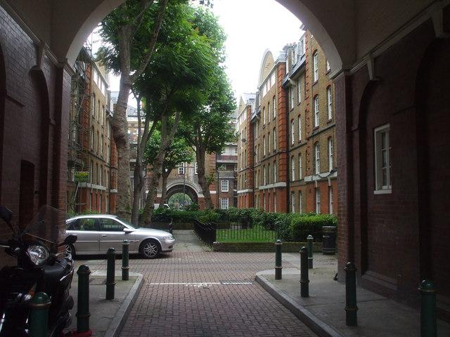 Bourne Estate, off Clerkenwell Rd, London