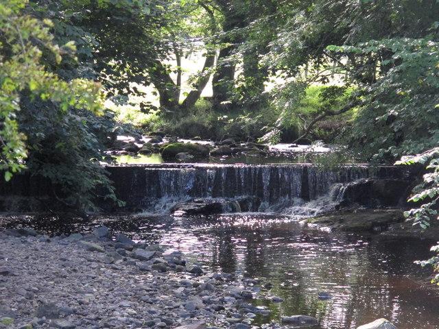 Weir on Park Burn