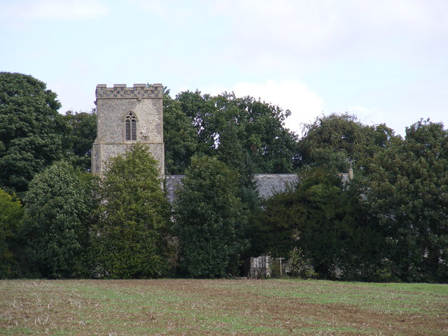 Monk Soham Church